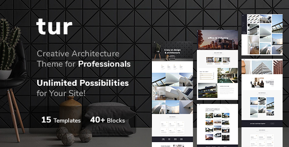 Architecture & Interior Design Tur - Architecture  & interior Design WordPress for Architecture - Portfolio Creative