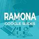 Ramona Creative Google Slides - GraphicRiver Item for Sale