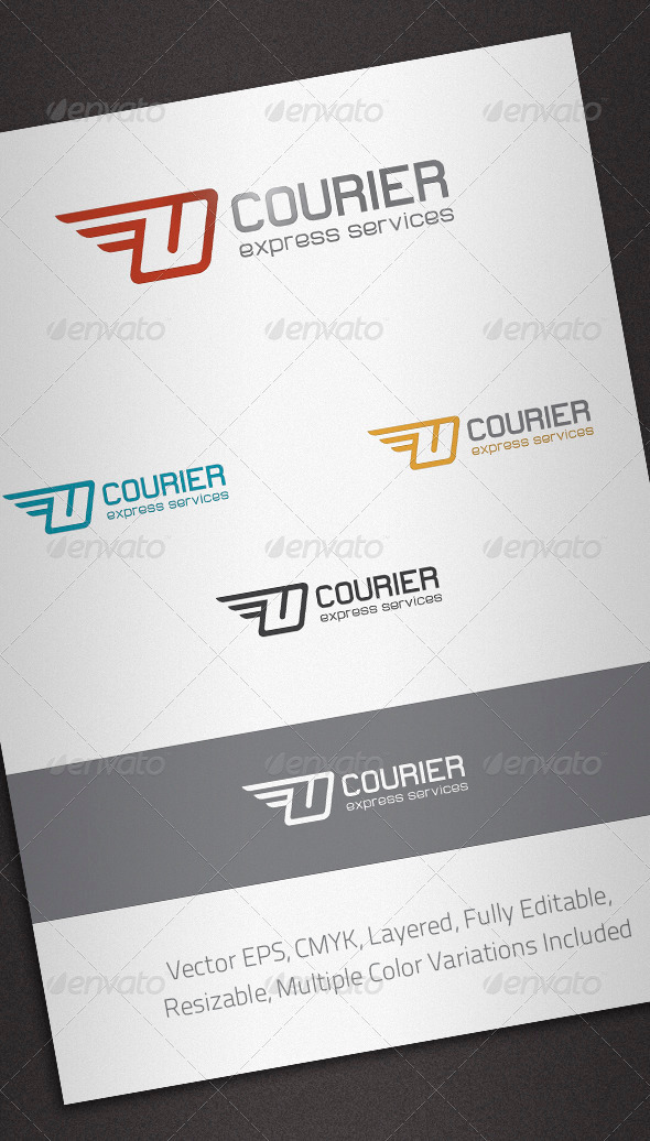 Courier Logo Template - Abstract Logo Templates