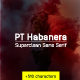PT Habanera Sans Font - GraphicRiver Item for Sale