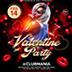 Valentine Party Flyer 5 - GraphicRiver Item for Sale