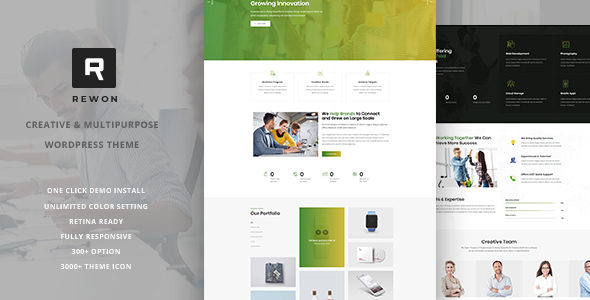 Rewon - MultiPurpose WordPress Theme