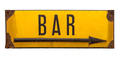 Isolated Rustic Metal Sign For A Bar - PhotoDune Item for Sale