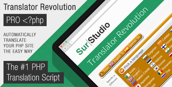 Ajax Translator Revolution Pro - CodeCanyon Item for Sale