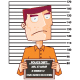 Prisoner Number Twelve with Police Data Board - GraphicRiver Item for Sale