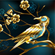 Steampunk Bird with Sakura - GraphicRiver Item for Sale