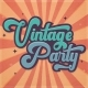 Vintage Party - Bold Retro Script - GraphicRiver Item for Sale
