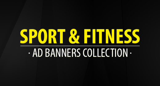 Sport & Fitness Banners