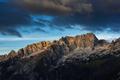 Sunrise over high mountains in Slovenia Julian Alps - PhotoDune Item for Sale