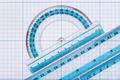 Group of transparent plastic rulers - PhotoDune Item for Sale
