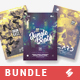 Drum and Bass vol.3 - Party Flyer / Poster Templates Bundle - GraphicRiver Item for Sale
