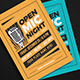 Open Mic Night Event Flyer - GraphicRiver Item for Sale