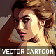 Vector Cartoon Oil Paint - GraphicRiver Item for Sale