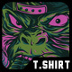 Mastermind Monkey T-Shirt Design - GraphicRiver Item for Sale