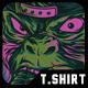 Mastermind Monkey T-Shirt Design
