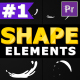 Cartoon Shape Elements - VideoHive Item for Sale