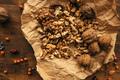 Walnut kernels top view - PhotoDune Item for Sale
