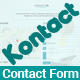 Kontact - Responsive HTML5 Ajax Contact Form - CodeCanyon Item for Sale