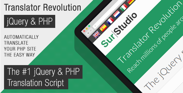Translator Revolution Lite jQuery Plugin - CodeCanyon Item for Sale