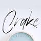Crake Brush Font - GraphicRiver Item for Sale