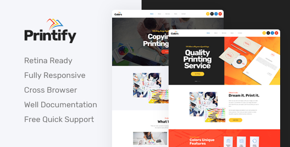 95790def Printify - Attention Grabbing Printing Company HTML Template by ...