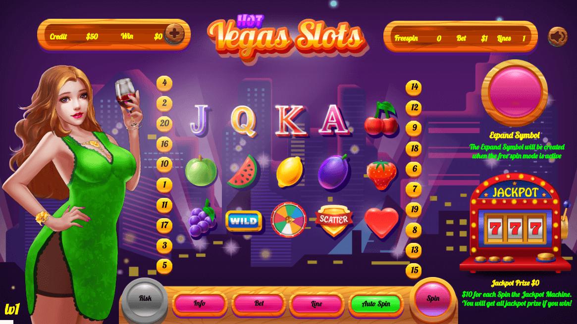 Hot Vegas Slot By Slotgen Codecanyon