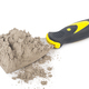 Gray cement powder with trowel - PhotoDune Item for Sale