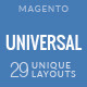Universal - Multi-Purpose Responsive Magento 2.2 and Magento 1 Theme - ThemeForest Item for Sale