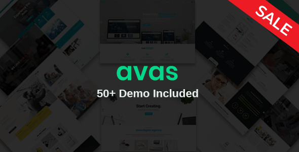 Avas | Multi-Purpose Responsive WordPress Theme - Business Corporate
