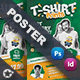 T-Shirt Print Poster Templates - GraphicRiver Item for Sale