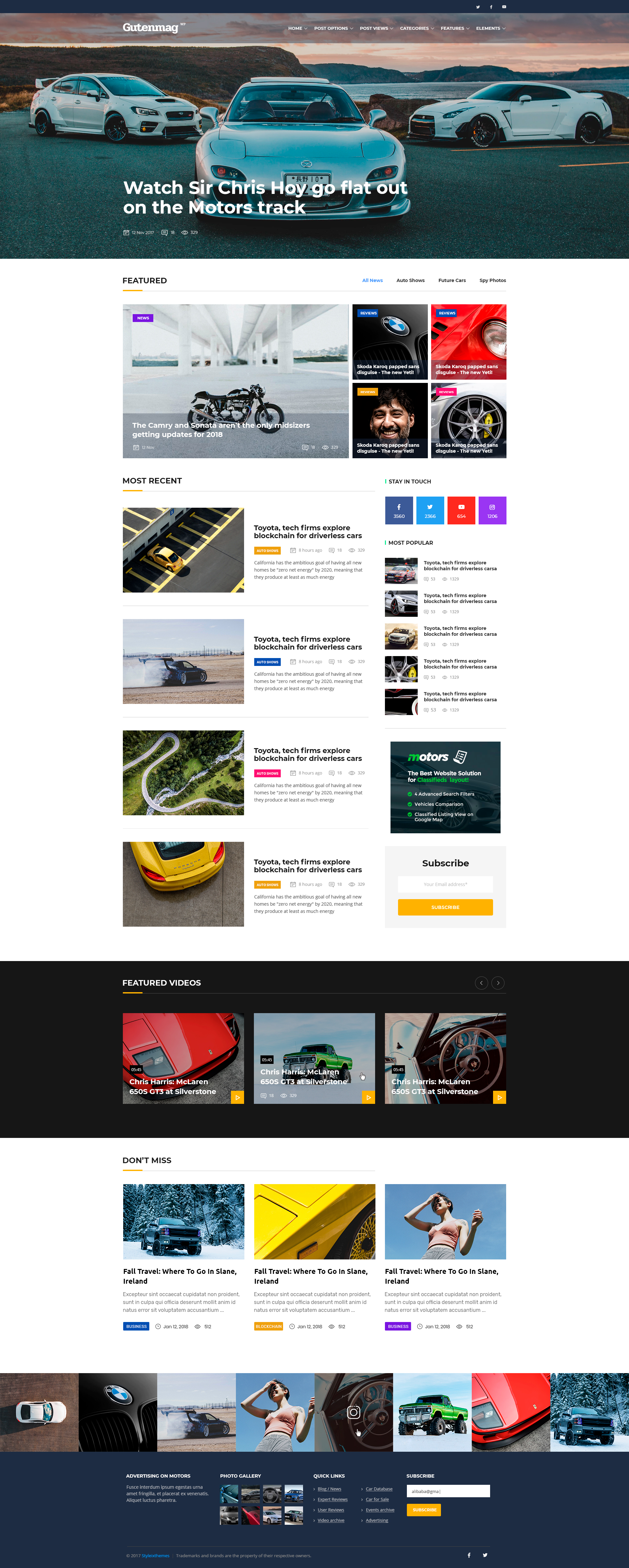 Gutenmag Gutenberg Wordpress Theme For Magazine And Blog By
