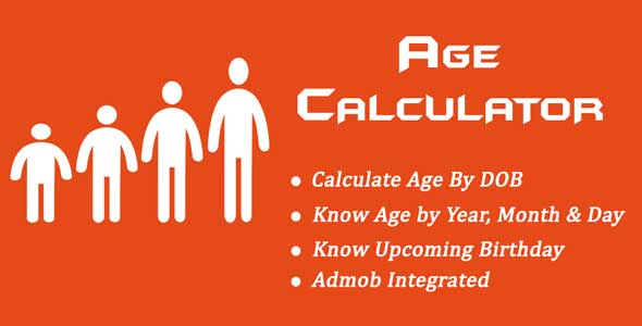 Age Calculator - CodeCanyon Item for Sale