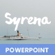 Syrena - Minimal Powerpoint Template - GraphicRiver Item for Sale