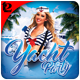 Yacht Party Flyer Template - GraphicRiver Item for Sale