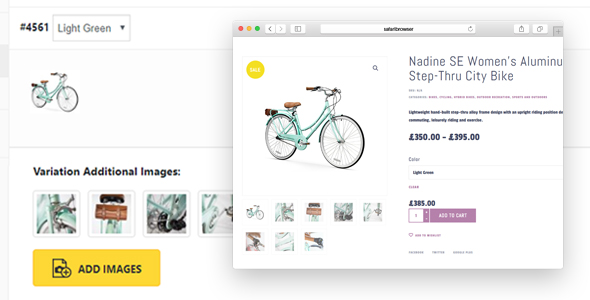 Additional Variation Images Plugin for WooCommerce