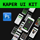 Kaper Mobile Ui Kit - GraphicRiver Item for Sale