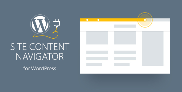 Site Content Navigator For WordPress - CodeCanyon Item for Sale