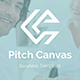Pitch Canvas Business Google Slide Template - GraphicRiver Item for Sale