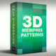 Memphis Seamless Patterns 3D - VideoHive Item for Sale