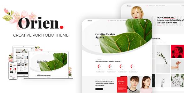 Orien - Creative Portfolio WordPress Theme - Portfolio Creative