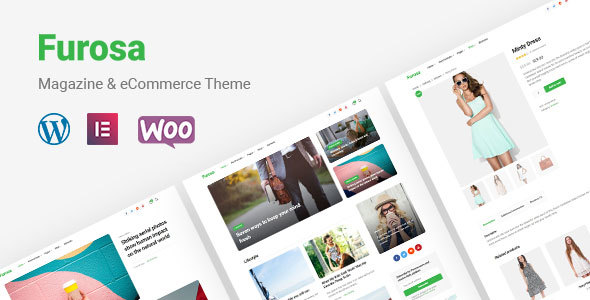 Furosa | Magazine eCommerce WordPress Theme - News / Editorial Blog / Magazine