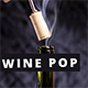 Wine Bottle Cork Pop