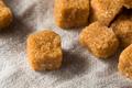 Raw Organic Brown Sugar Cubes - PhotoDune Item for Sale