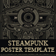 5 Steampunk Posters - GraphicRiver Item for Sale