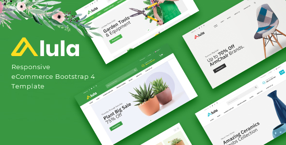 Alula - Multipurpose eCommerce Bootstrap 4 Template