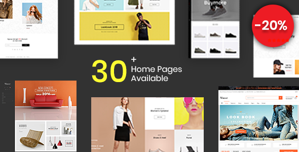 Shopify - Manor Clean, Minimal , Drag & Drop - Shopping Shopify