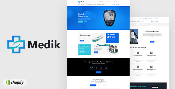 Medik | Sectioned Medical Shopify Theme