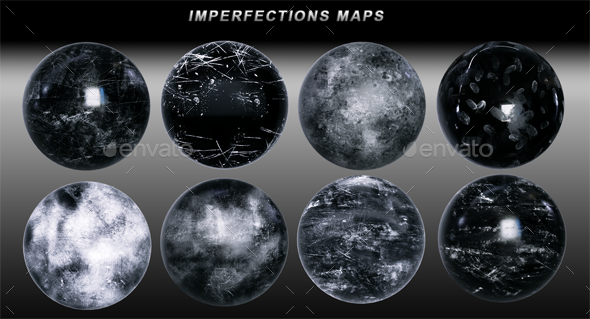 Imperfections Maps 4K - 3DOcean Item for Sale