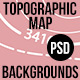 Topographic Map Backgrounds - GraphicRiver Item for Sale