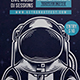 Galaxy Astronaut Flyer Template - GraphicRiver Item for Sale